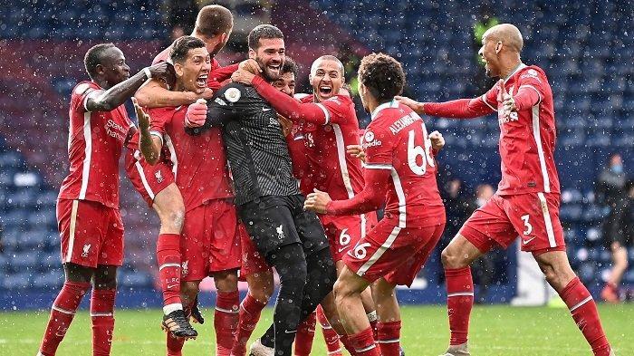 Kata Alisson Becker Soal Gol Injury Time ke Gawang West Brom dan Jadi Pahlawan Kemenangan Liverpool