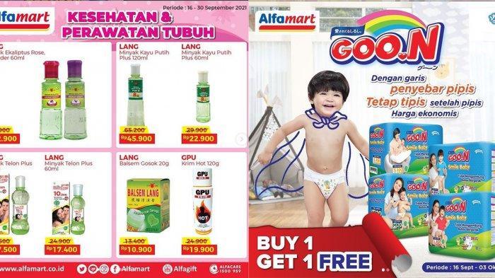 KATALOG PROMO Alfamart 23 September 2021, Diskon Friskies, Balsem Gosok, Diapers Buy 1 Get 1 Free