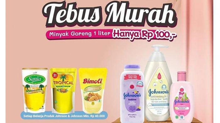 PROMO Alfamart 19 September 2021, TEBUS Minyak Goreng Hanya Rp100, Big Cola Rp9.900, Anmum Rp35.900