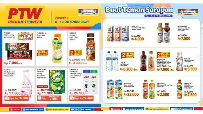 KATALOG PROMO Indomaret 7-9 Oktober 2021: Lifebuoy Shampoo 340ml Rp25.900, Ultra Milk Hemat