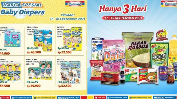 Promo Indomaret 18 September 2021, Promo Diapers, Susu, Rinso Cair Rp10.400