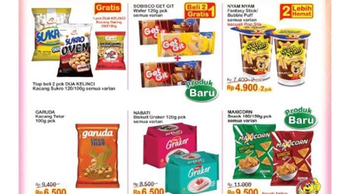 TERBARU, PROMO Indomaret 14 September 2021, Gratis Kacang Garing, Snack Baru Beli 2 Gratis 1