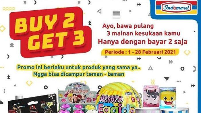 Katalog Promo Indomaret Senin 8 Februari 2021: Mainan Anak Buy2 Get3, Jangan Lewatkan Promo Heboh
