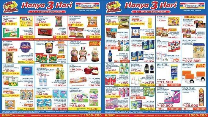 Promo Indomaret 17 September 2021, Diapers Murah, Tepung Terigu Rp4.900, Kojie San Beli 2 Gratis 1