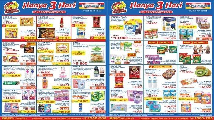 Promo Indomaret 4 September 2021, Diapers Murah, Susu Kental Manis Rp10.900, Garnier Rp19 Ribuan