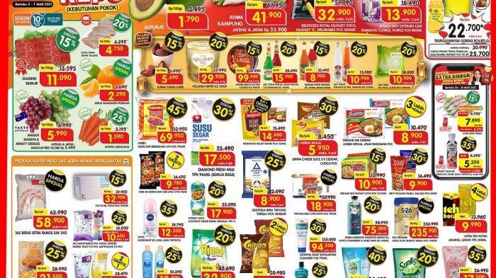 Katalog Promo Superindo 7 Maret 2021, Minyak Goreng 2L hanya Rp22.700, Susu Segar Diskon 30 Persen