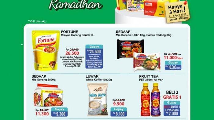 Promo JSM Alfamart 3 April 2021, Promo Biskuit, Mi Instan 5 hanya Rp11.000, Minuman Beli 2 Gratis 1