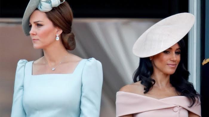 Hubungan Kate dan Meghan Dikabarkan Memanas, Ratu Elizabeth II Memihak Siapa?