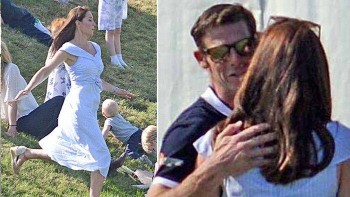 Kate Middleton Peluk Dan Cium Pria Pemain Polo, Bukan Pangeran William, Siapa Dia?