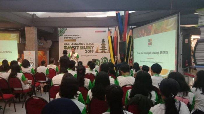 Kaum Milenial Bahas Potensi Sawit di Acara Bali Amazing Race Sawit Hunt 2019