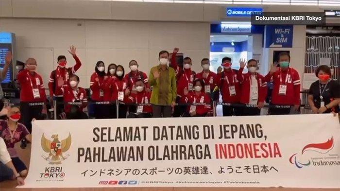 KBRI Tokyo sambut kontingen Indonesia yang akan berlaga di Paralimpiade Tokyo 2020. Indonesia berhasil mengirim 23 atlet dari tujuh cabor untuk berlaga di Paralimpiade Tokyo 2021 yang digelar pada 24 Agustus hingga 5 September 2021.