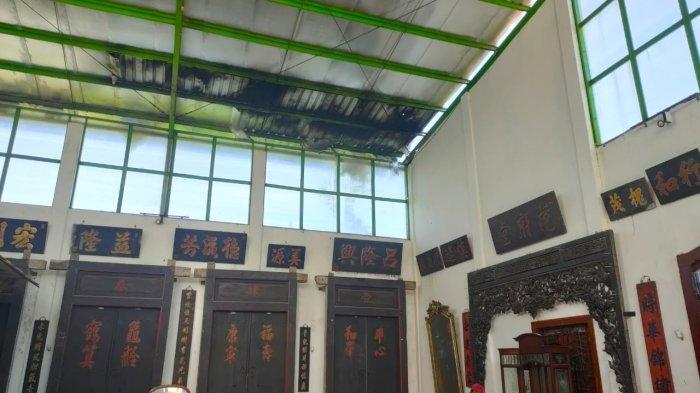 Atap Gudang Museum Pabrik STP 2 di Jembrana Terbakar