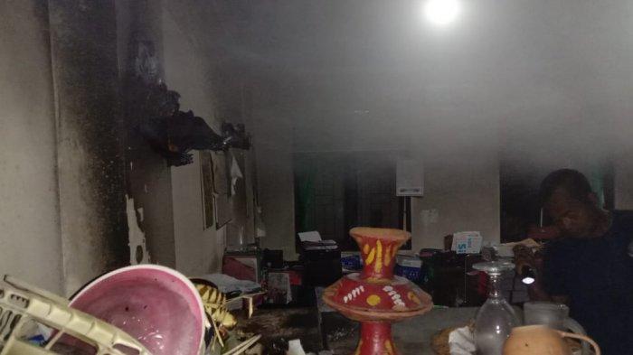 Diduga Dipicu Api Dupa, Dinas Pertanian Tabanan Bali Kebakaran