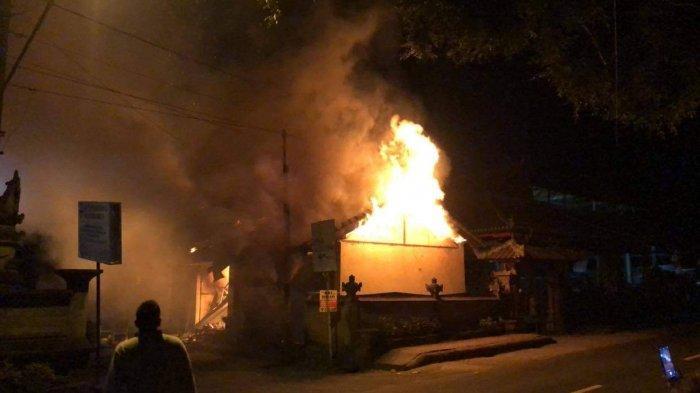 Kebakaran Kios di Banjar Selat Klungkung, Kerugian Sekitar Rp. 200 Juta