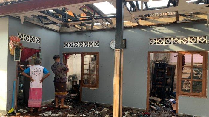 Kebakaran Hanguskan Kios dan Kamar Tidur di Klungkung Bali, Diperkirakan Akibat Konsleting Listrik