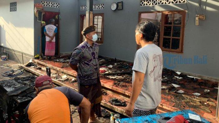 UPDATE: Kebakaran Warung dan Rumah di Gunaksa Klungkung, Sudiarta: Saya Tidak Tahu Api Dari Mana