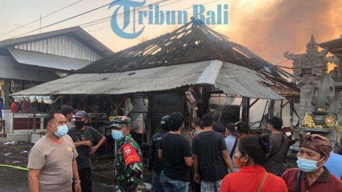 Penyebab Kebakaran Pasar Lelateng di Jembrana Karena Korsleting Listrik Kulkas