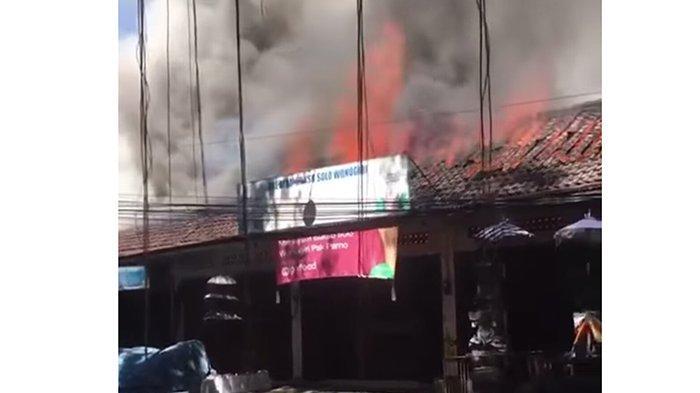 Pertokoan di Kerobokan Terbakar Saat Pemilik Sedang Pulang Kampung