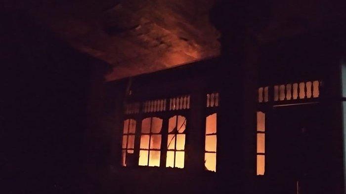 Kebakaran Rumah di Pemecutan Kelod Denpasar Disebabkan Korsleting Listrik, Api Berkobar Cepat