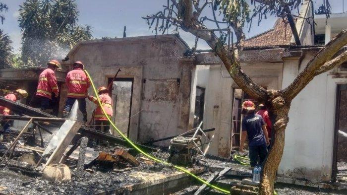 Vila di Sanur Ludes Terbakar, Polisi Duga Karena Korsleting Listrik, Kerugian Rp 200 Juta