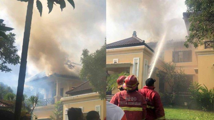 BREAKING NEWS – Terjadi Kebakaran Rumah Mewah Milik Dokter di Pemogan Denpasar Bali