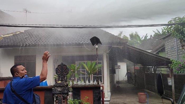 Bikin Geger, Kebakaran Rumah di Jembrana Diduga Karena Korsleting Listrik