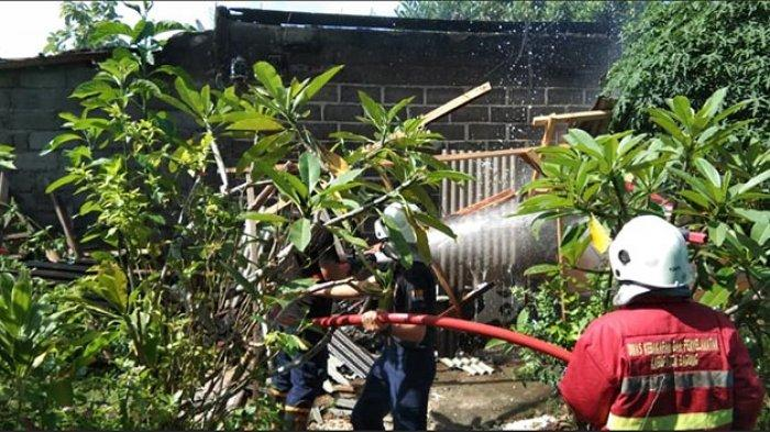 Warung Sembako di Ungasan Badung Terbakar, Dipicu Akibat Pembakaran Kertas Buat Usir Nyamuk