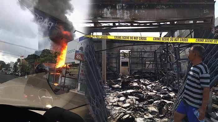 Kebakaran Toko Plastik di Sesetan, Warga Jimbaran Ini Merugi Rp 300 Juta