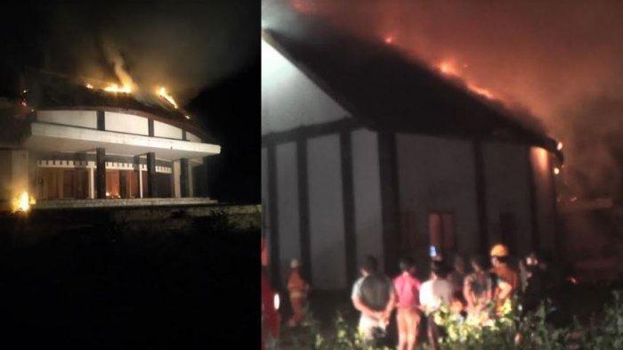 7 Jam Pergulatan Petugas Padamkan Api yang Membakar Vila Pancardawa Jembrana