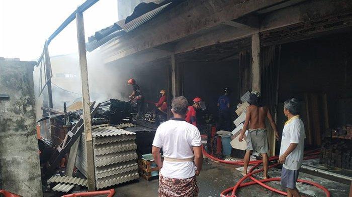 Gusti Parwata Berusaha Tegar Saat Toko Bangunan Miliknya Ludes Terbakar, Alami Kerugian Ratusan Juta