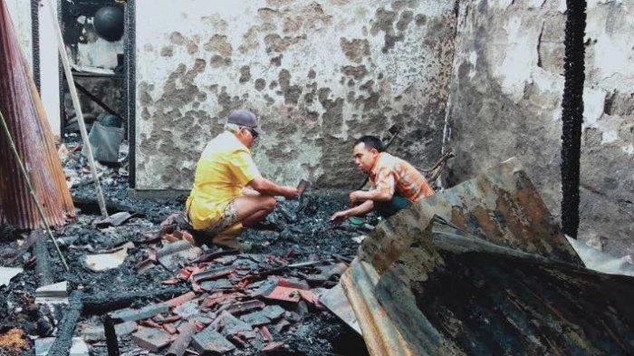 5 Emas Batangan, Cincing, dan Gelang Ikut Terbakar, Made Wardana Terus Mencarinya di Bawah Puing