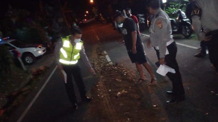 Adu Jangkrik di Jalan Kalianget Blahkiuh Badung, Made Ramia Tergeletak dan Tewas di Tempat