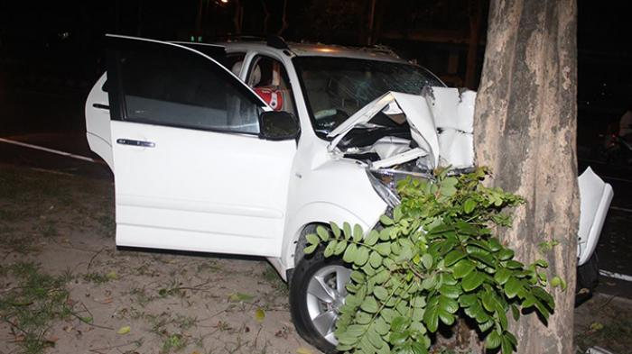 Kecelakaan di Jalan Merdeka, Dua Orang Dilarikan ke RSUP Sanglah