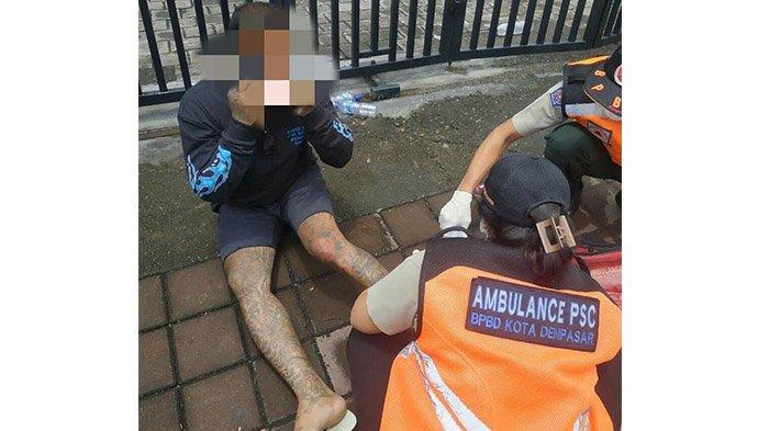 Kecelakaan di Jalan Mahendradatta Denpasar, Gigi Bagian Bawah Made Copot