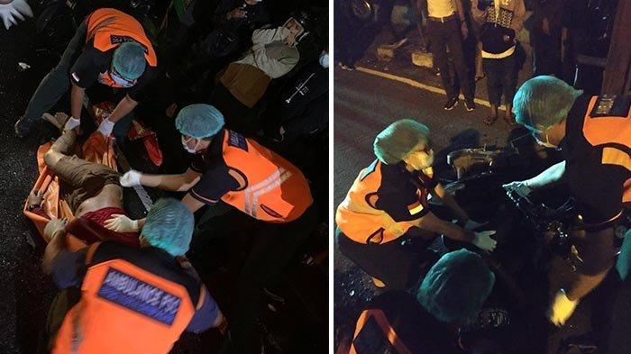 Kendaraan Oleng, Dua Motor Tabrakan di Jalan Mahendradatta Denpasar, 1 Orang Tewas di TKP