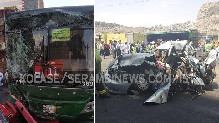Taksi yang Ditumpangi Alami Kecelakaan di Mekkah, 4 Calon Haji Asal Indonesia Luka Berat
