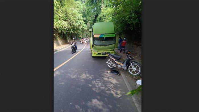 Serempet Truk Parkir di Klungkung, Ketut Suanta Terpelanting hingga Alami Luka pada Pelipis Kiri