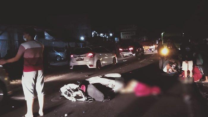 Tabrak Truk Fuso, Pengendara Motor Tewas Kecelakaan di Jalan Denpasar-Gilimanuk Jembrana