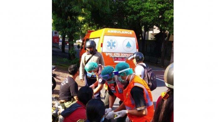 Usai Nyepi 2021, 3 Orang Terlibat Kecelakaan di Jalan Raya Puputan Renon Denpasar Bali