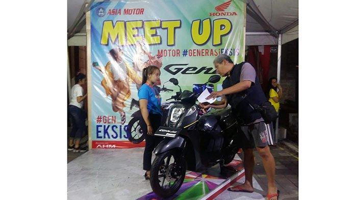 Meet Up Motor Honda Genio Sasar Milenial, Pembeli Dapat Inden Sebelum Launching