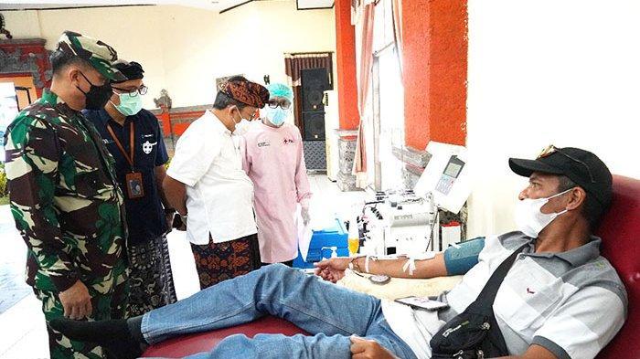 Makin Banyak Warga Bali Sembuh Covid-19,Danrem 163 Wira Satya Ajak Penyintas Donor Plasma Konvalesen