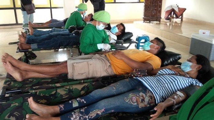Bantu Stok Darah, Golkar Gianyar Target 1.000 Kantong Darah