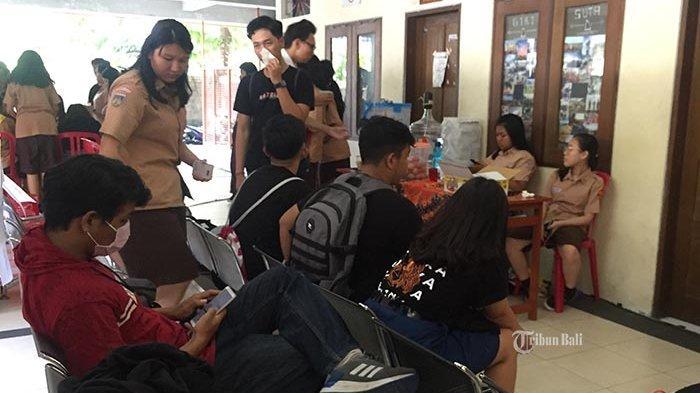 Hari Valentine, SMA ST Yoseph Denpasar Gelar Donor Darah