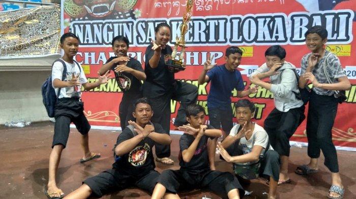 8 Siswa SMP Dharma Wiweka Raih Medali Emas Kejuaraan Internasional Pencak Silat di Denpasar