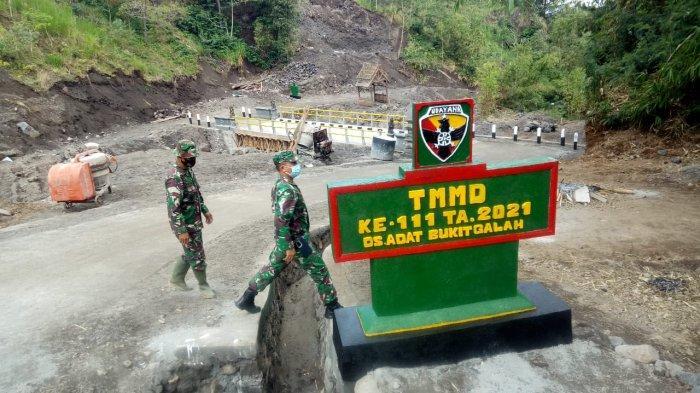 TMMD ke-111 Karangasem Ditutup, Momentum Pembangunan Untuk Kemajuan Masyarakat
