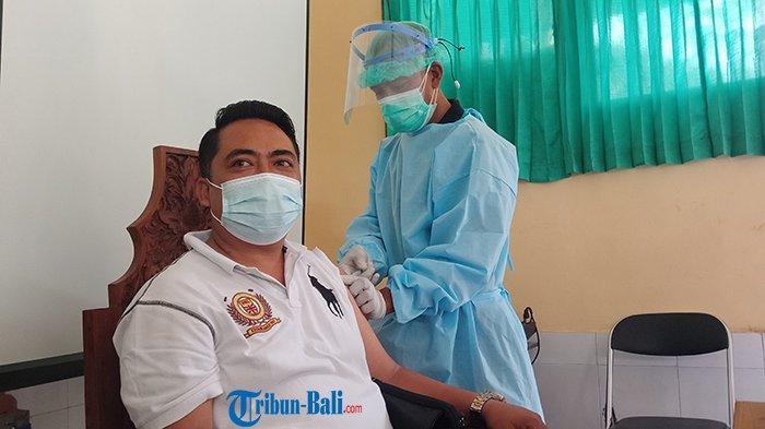 1.700 Orang di Bangli Jadi Sasaran Vaksinasi Covid-19 Tahap II