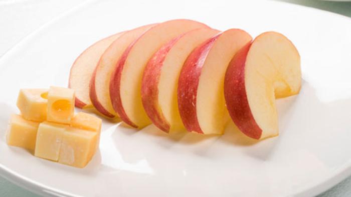 Keju dan apel