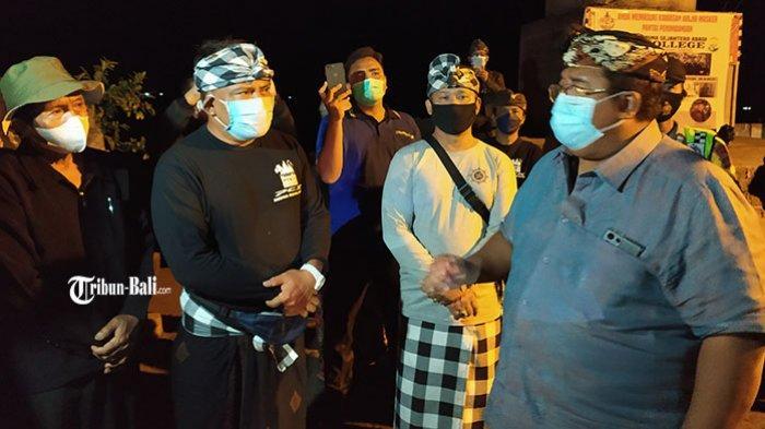 Pedagang di Pantai Penimbangan Buleleng Mengeluh, Tidak Diizinkan Jualan Selama PPKM Darurat