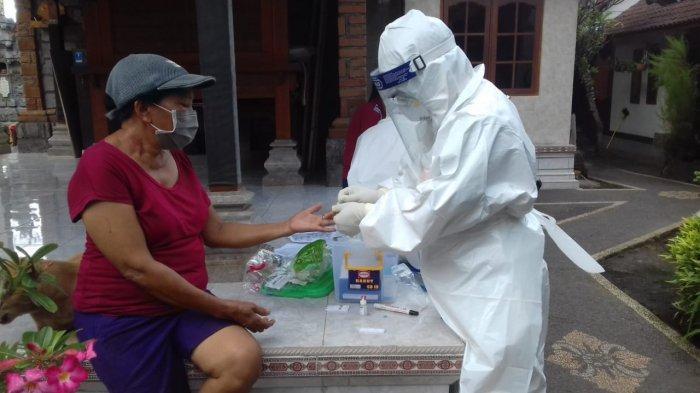 Hasil Swab Test Tukang Bangunan di Desa Saba Gianyar Berubah Dalam Sehari