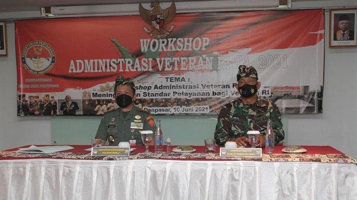 Gelar Workshop di Bali, Kementerian Pertahanan Siap Tingkatkan Pelayanan Kesejahteraan Veteran RI